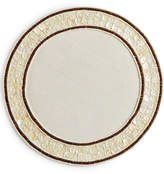 Leila's Linens Mop with Wood Bead Placemat