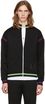 McQ by Alexander McQueen Black Cycle Zip-up Sweater