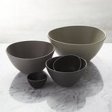 Crate & Barrel Roscoe Nesting Bowl 5-Piece Set
