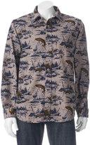 Woolrich Men's Tiadaghton Print Button-Down Shirt