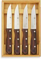 Zwilling J.A. Henckels 4-Piece Steakhouse Steak Knife Set