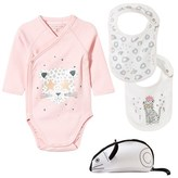 Little Marc Jacobs Set of 3 Leopard Print Body and Two Bibs