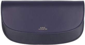 A.P.C. Logo Leather Wallet
