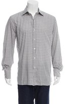 Tom Ford Windowpane Button-Up Shirt