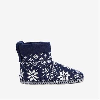Joe Fresh Women's Slipper Booties, Navy (Size M)