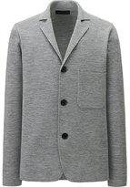 Uniqlo Men Merino-Blended Milano Ribbed Jacket