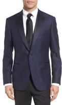 Men's Samuelsohn Classic Fit Wool & Cotton Dinner Jacket
