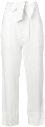 Le Kasha Amman bow-tie trousers