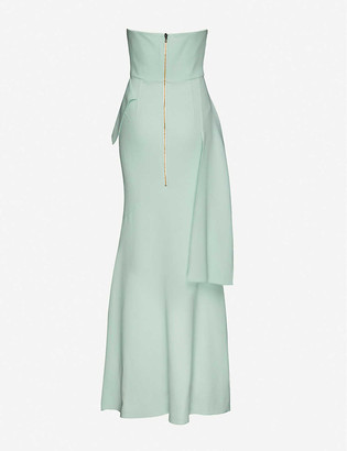 Roland Mouret Adrienne wool maxi dress