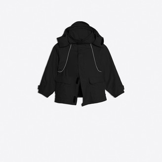 Balenciaga Ski parka codes adapted to an Couture urban coat