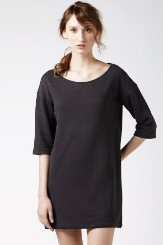 Lacoste 3/4 Sleeve Lightweight Boatneck T-shirt Dress