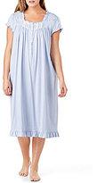 Eileen West Plus Dotted Jersey Waltz Nightgown