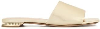 Nicholas Kirkwood metallic slip-on sandals