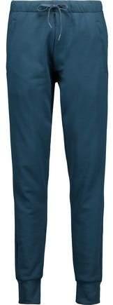 Y-3 + Adidas Originals Cotton-Jersey Track Pants