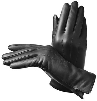 Aspinal of London Ladies Cashmere Lined Leather Gloves