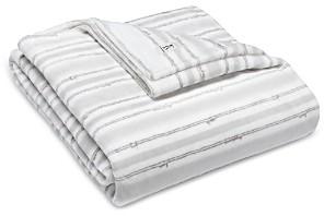 ED Ellen Degeneres Block Stripe Ultra Soft Plush Blanket, Full/Queen