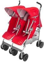 Maclaren Twin Techno Stroller in Cardinal