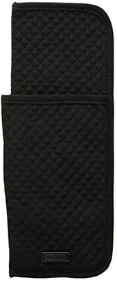 Vera Bradley Iconic Curling Flat Iron Cover (Classic Black) Wallet