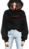 Germinate Cropped Hoodie Pullover Women Tumblr Vintageweathirt Teen Girl