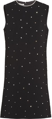 Miu Miu Crystal-Embellished Dress