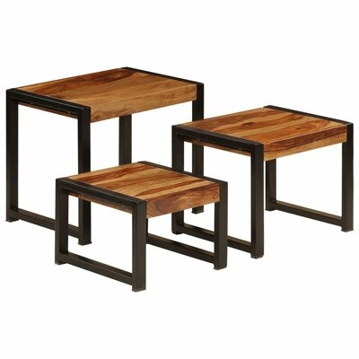 Thumbnail for your product : Union Rustic Truitt Trestle Nesting Tables