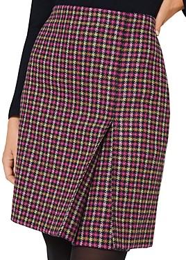 Hobbs London Avery Kick Pleat Skirt
