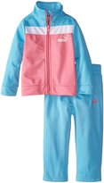 Puma Baby Girls' Color Block Tricot Track Set