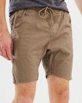 Rusty Roller Elastic Shorts