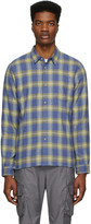 John Elliott Blue Sly Shirt
