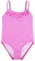 Elizabeth Hurley Beach Kids - heart print one-piece swimsuit - kids - Polyamide/Spandex/Elastane - 3 yrs