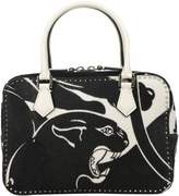 Valentino Panther Cow Hair Handbag
