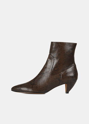 Vince Snake Meta Ankle Boot