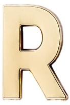Make Heads Turn Letter R Pin