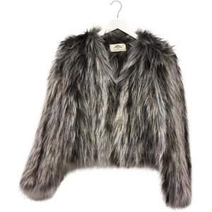 Urban Code Urbancode - Yetzali Fur Jacket - L - Grey