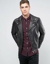 Lee Leather Biker Jacket