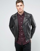 Lee Leather Perfecto Biker Jacket