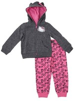 Hello Kitty Toddler Girls' Hello KittyTop And Bottom Set - Charcoal Heather