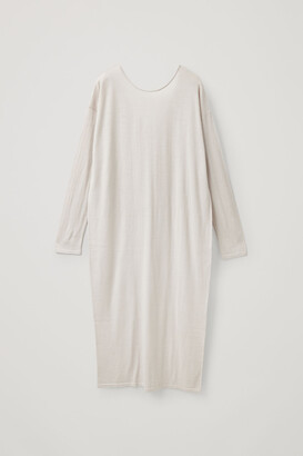 Cos Long Wool Knitted Dress