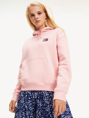Tommy Hilfiger Tommy Badge Pure Cotton Hoody
