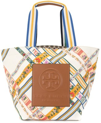 Tory Burch Gracie canvas tote bag