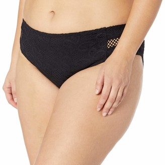 Becca Etc Women's Plus Size Captured Hipster Bikini Bottom