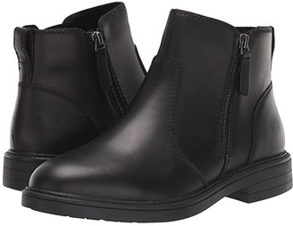 Cougar Harley Waterproof (Black Leather) Women's Rain Boots