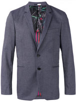 Paul Smith welt pockets blazer - men - Cotton/Polyester/Spandex/Elastane/Viscose - 48