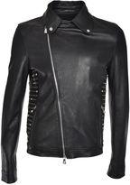 Versus Studded Leather Jacket