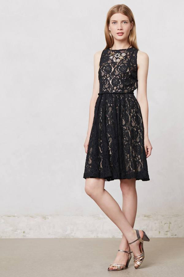 Anthropologie Eclipsing Lace Dress
