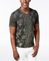 INC International Concepts Men's V-Neck Printed T-Shirt, Created for Macy's