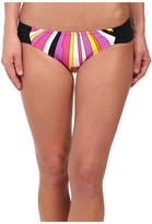 Trina Turk Sunburst Shirred Side Hipster Bottom