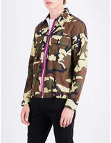 Givenchy Camouflage-print Cotton Shirt Jacket