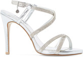 Dune Mansionn leather high heeled sandals