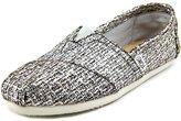 Toms Classics Silver Glitter Wool 10006172 Women's 9